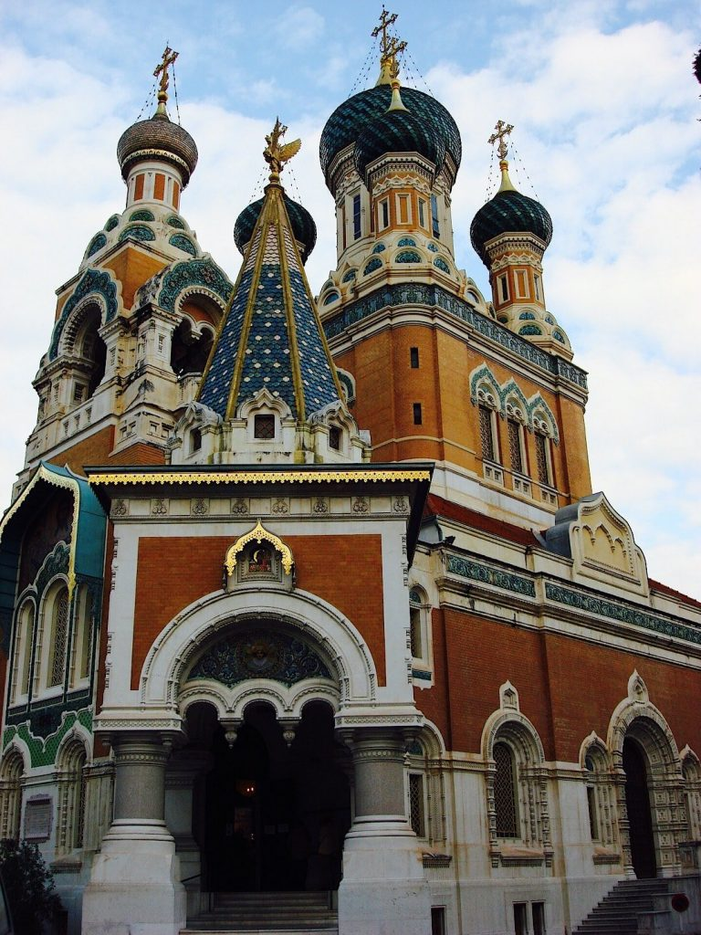 Russian Orthodox Cathedral in France