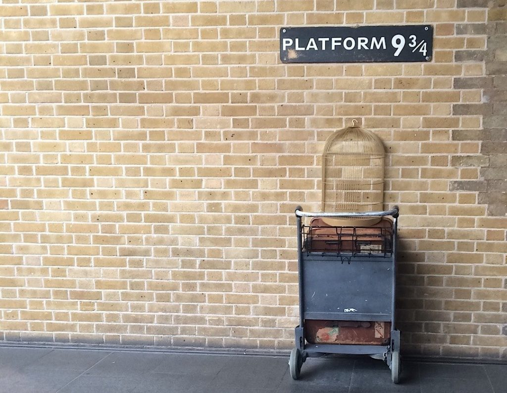 Harry Potter Shop at Platform 9¾, London