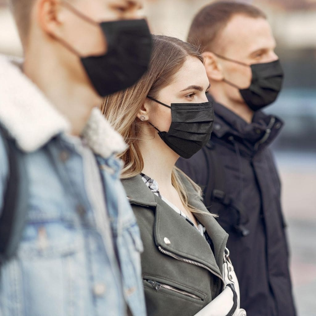 Wear a mask to help reduce the transmission of Coronavirus during travel