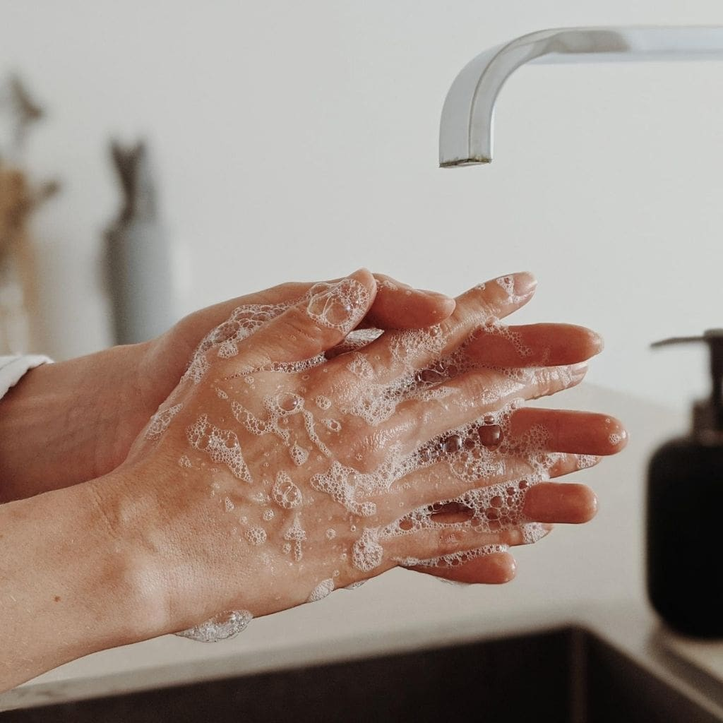 Be sure to wash your hands while traveling during Coronavirus